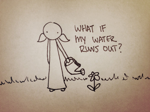 what if my water runs out?