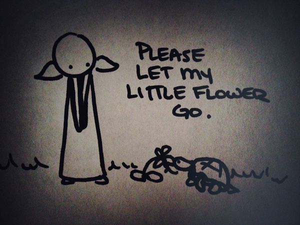 please let my little flower go.