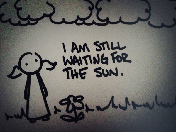 i am still waiting for the sun.