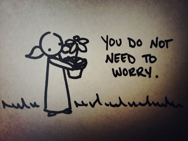 you do not need to worry.