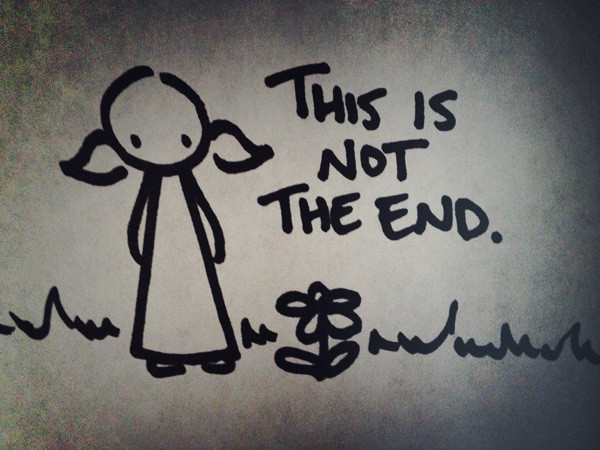 this is not the end.